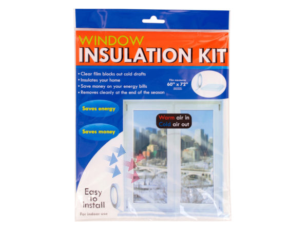 Wholesale window insulation kit bulk buys freight for Window insulation kit
