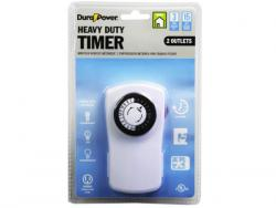 Wholesale DuraPower 2 Outlet Heavy Duty Timer Outlet