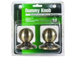 Wholesale Chestnut Hill Dummy Knobs With Brass Finish