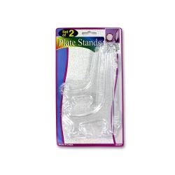 Wholesale Clear Plate Stands