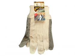 Wholesale Universal Size Cotton Canvas Gripper Working Gloves