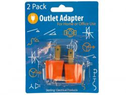 Wholesale Grounding Plug-in Outlet Adapters