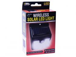 Wholesale Motion-Activated Wireless Solar LED Light
