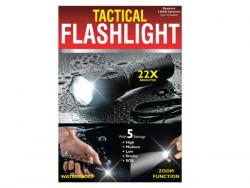 Wholesale Waterproof Tactical Zoom Flashlight With 5 Settings