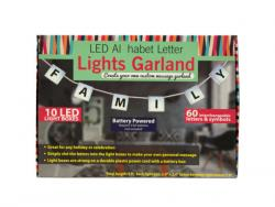 Wholesale LED Alphabet Letter Lights Garland